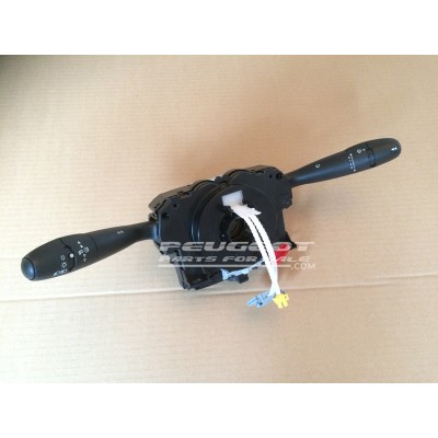 Peugeot 307 Citroen Com 2005 Unit, Light Wiper Indicator Stalk Column Switch, Reconditioned Unit, Part No. 6242ES