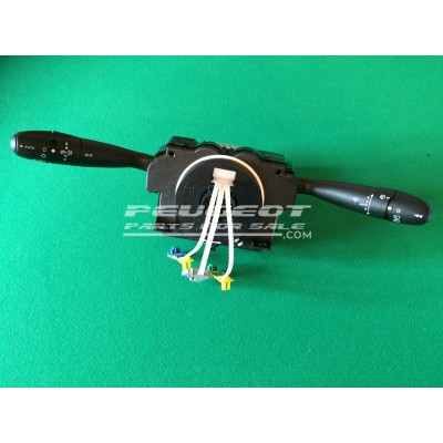 Peugeot Com 2000 Unit, Light Wiper Indicator Stalk Column Switch, Reconditioned unit, Part No. 6242C6