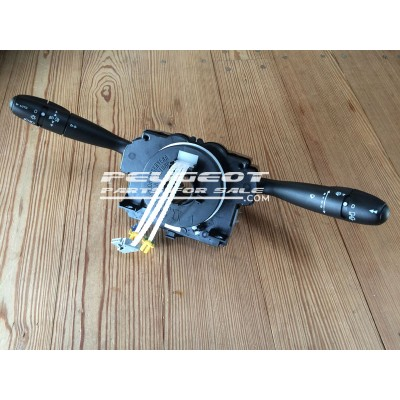 Peugeot 206, Citroen Xsara Picasso Com 2000 Unit, Light Wiper Indicator Stalk Column Switch, Reconditioned unit, Part No. 96477549XT