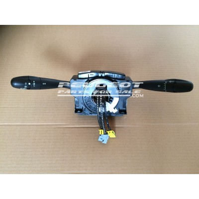 Peugeot 206, Partner VU, VP, M59, Citroen Berlingo Van, Combi Multispace MPV, Com 2000 Unit, Lights Wipers Indicator Stalks, Top Steering Column Switch, Reconditioned Unit, Part No. 96642904XT
